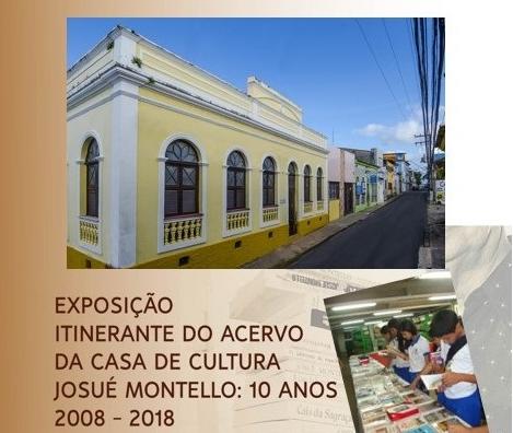 Acervo itinerante da Casa de Cultura Josué Montello chega a Codó