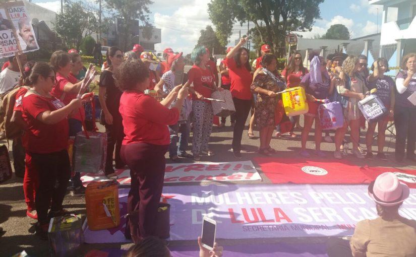 Sindicalista maranhense participa do acampamento pró-Lula em Curitiba