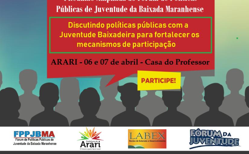 Juventude da Baixada Maranhense pauta debate sobre violência em municípios da região