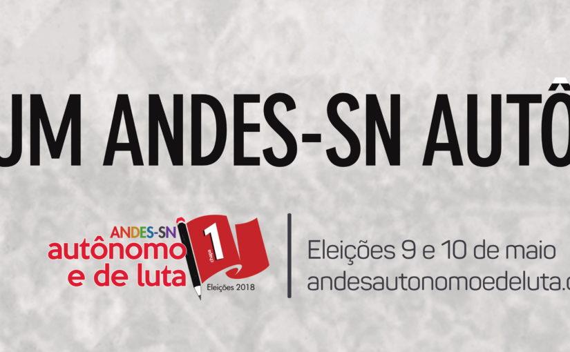 Professor da UFMA Antonio Gonçalves concorre à presidência do Andes