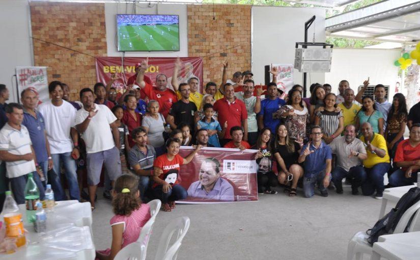 Luiz Henrique vai consolidando a pré-candidatura nas regiões Tocantina e sul do Maranhão