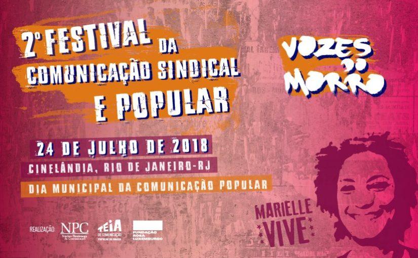 2º Festival da Comunicação Sindical e Popular vai abordar ditadura e resistência no Brasil