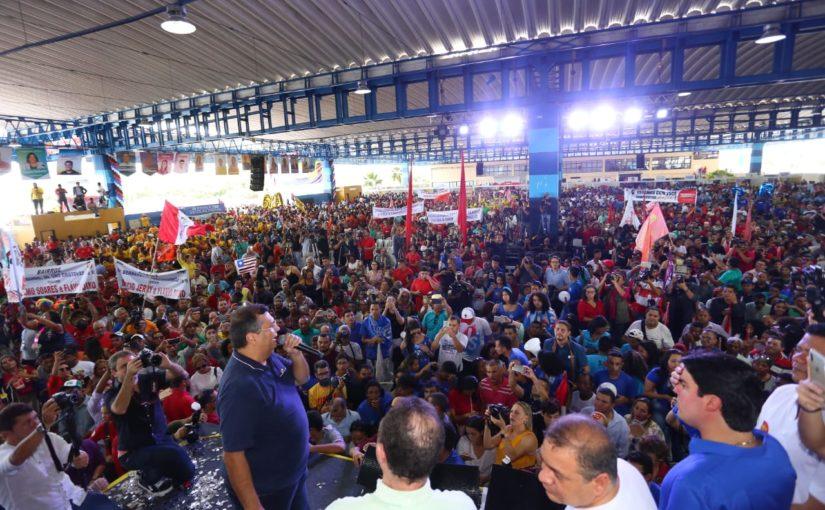 Convenção de Flávio Dino reúne aliados históricos e legendas do Centrão