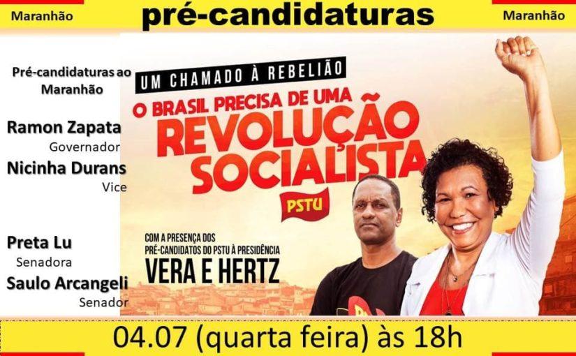 PSTU lança pré-candidaturas e defende a revolução socialista