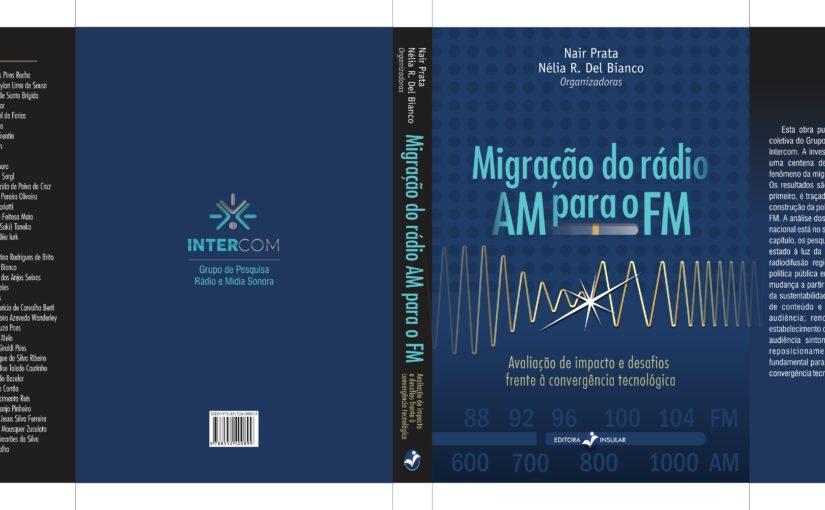 Livro sobre migração do rádio AM para FM será lançado em dois eventos nacionais