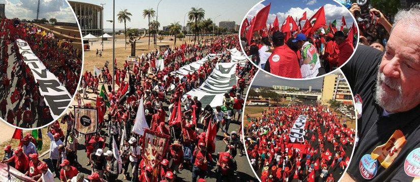 O poder do silêncio e o barulho da internet na Marcha Lula Livre