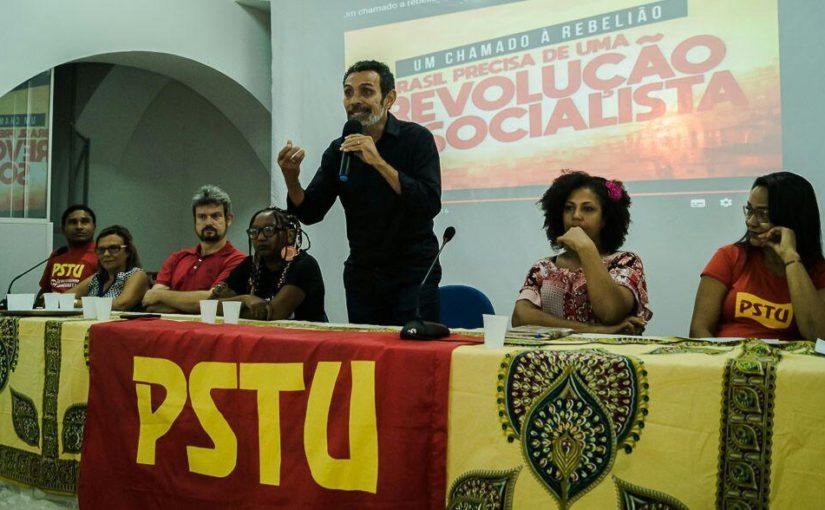 Sem coligar, PSTU confirma Ramon Zapata e Nicinha Durans para Governo do MA