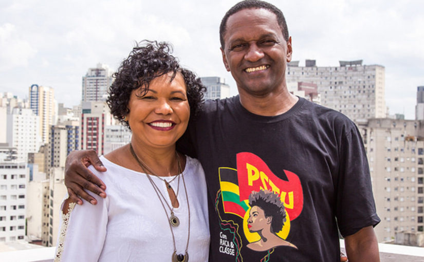 Hertz Dias, maranhense candidato à vice-presidência pelo PSTU, faz campanha em São Luís