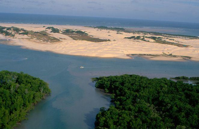 Porto de Apicum-Açu é o principal acesso às ilhas da Floresta dos Guarás