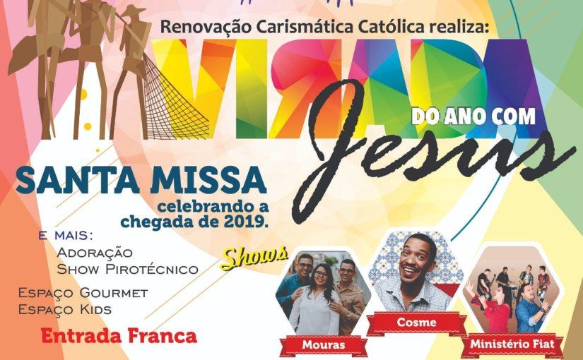Católicos preparam grande virada do ano na avenida Litorânea