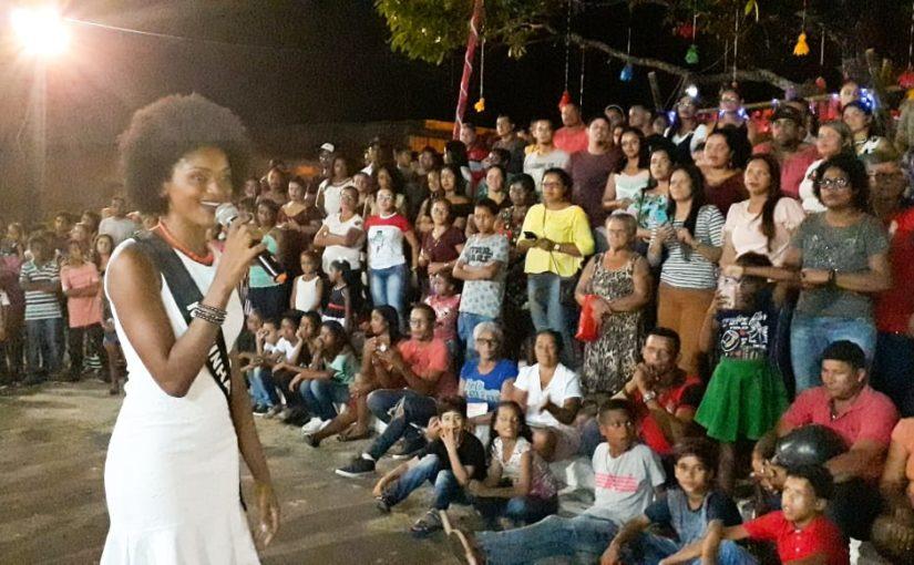 Quilombola de Matinha participa do concurso Miss Maranhão 2019