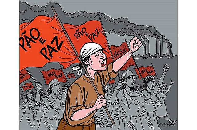 8 de Março nasceu com luta por pão e paz