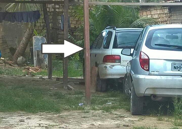 """Subaru intocado: carro usado para transportar material arqueológico pirateado das comunidades quilombolas está """"guardado"""" em Bacuri"""