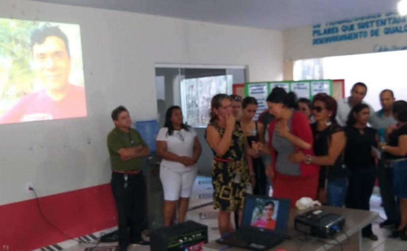 Despedida do professor Antonio José, fundador da rádio comunitária Diamantina FM, leva comoção às ruas de Governador Edison Lobão