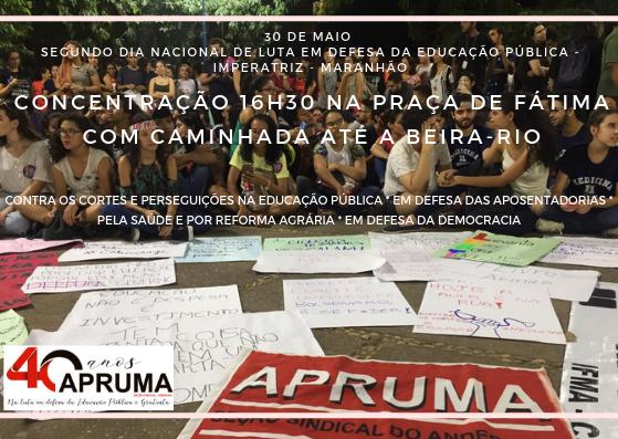 Manifestações do dia 30 terão mostra de produção científica e prestação de serviços à população