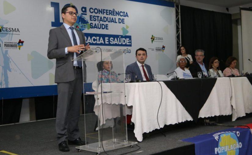 10ª Conferência Estadual de Saúde debate direito à saúde e financiamento do SUS