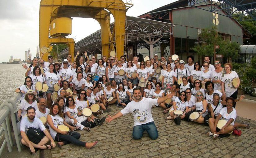 Rio Pandeiro aquece os tambores em intercâmbio cultural com São Luís