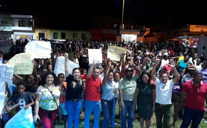 Penalva se destaca nas mobilizações em defesa da Educação e aposentadoria digna