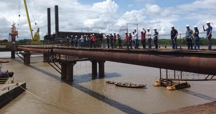 Em obras, ponte sobre o rio Pericumã gera expectativa nos municípios da Floresta dos Guarás