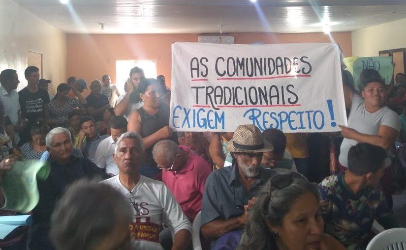 Audiência pública vira manifestação de repúdio ao projeto de revisão nos limites do Parque Nacional dos Lençóis Maranhenses