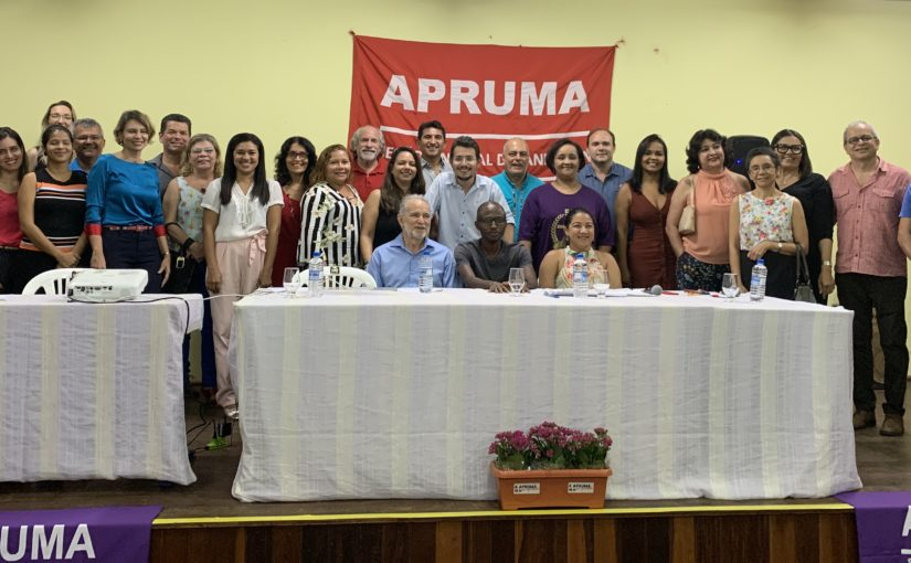 Nova diretoria da Apruma toma  posse e reitera a defesa da Universidade pública