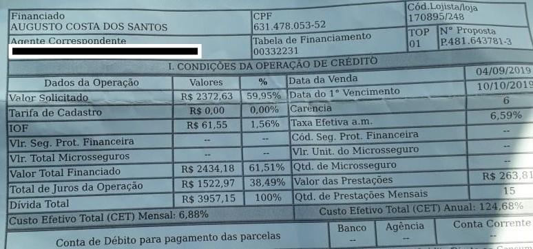 """""""Magazine Luiza"""": compre R$ 1.846,71 e pague R$ 3.957,15"""