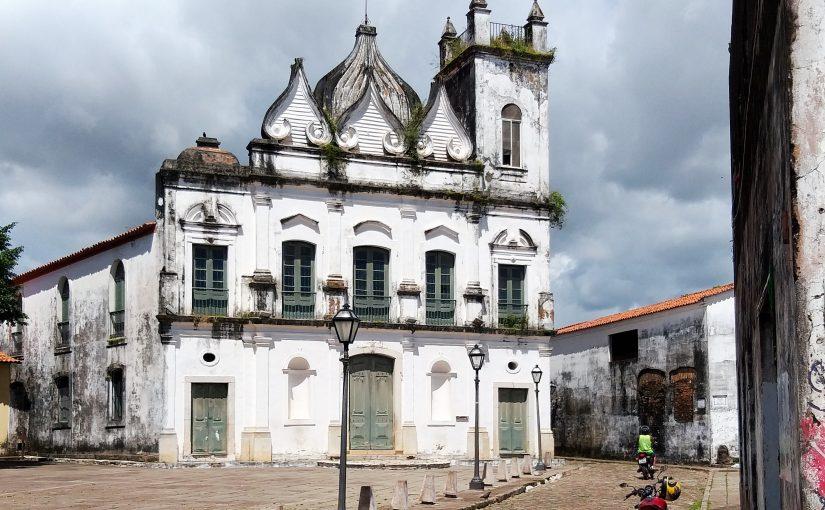 A igreja do Desterro no Centro Histórico de São Luís