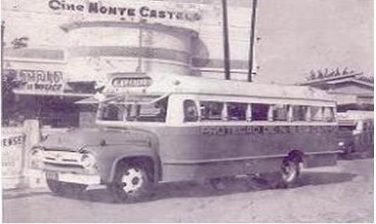 Nos tempos do cine Monte Castelo