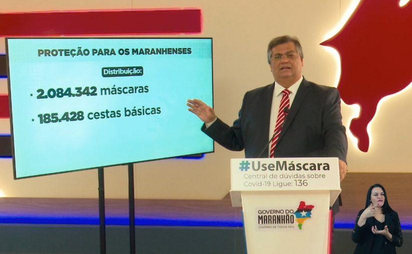 Mais de 2 milhões de máscaras foram entregues gratuitamente pelo Governo do Maranhão