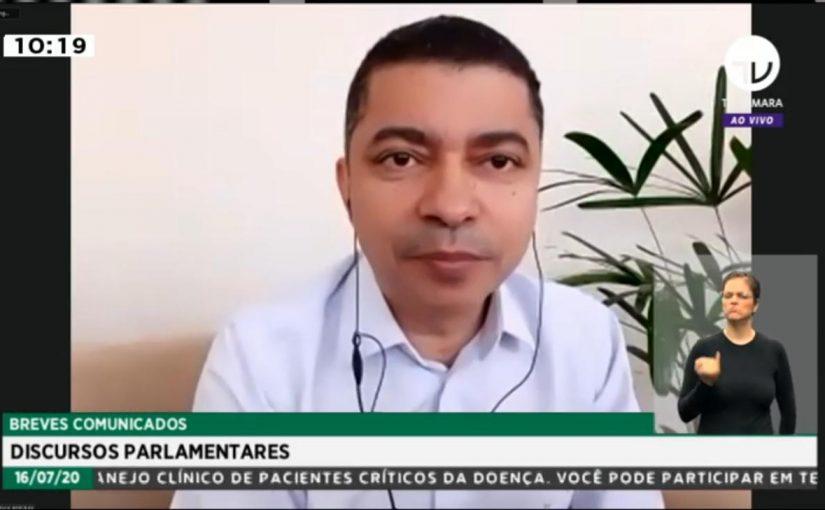 """""""É indispensável para a educação pública"""", afirma Bira do Pindaré sobre o Novo Fundeb"""