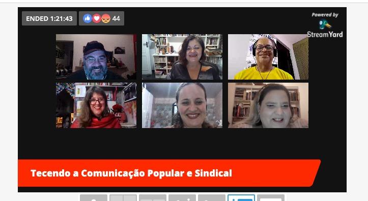 Comunicadores do meio popular e sindical estreiam programa conectando experiências de várias regiões do Brasil