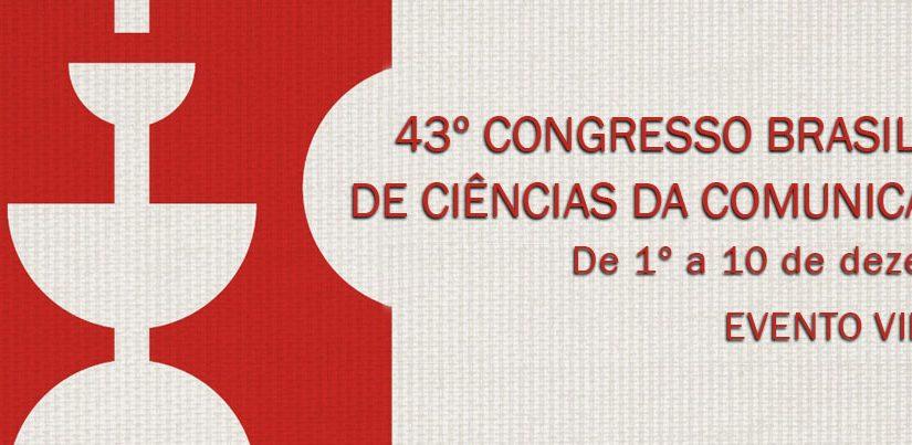 Inscrições abertas para o 43º Congresso Brasileiro de Ciências da Comunicação (Intercom)