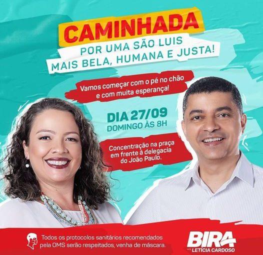 Caminhada: Bira vai iniciar a campanha no bairro João Paulo