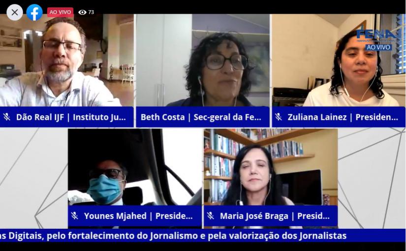 Fenaj defende a criação de fundo público de fomento ao jornalismo profissional