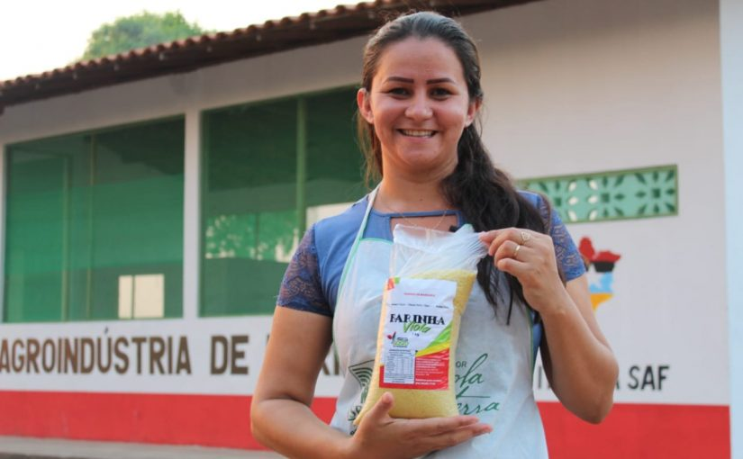 Agroindústria de farinha será gerenciada por mulheres em São Domingos do Maranhão