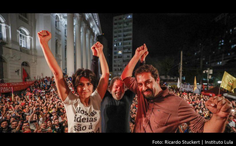 Esquerda solidária na imagem que marcou a semana