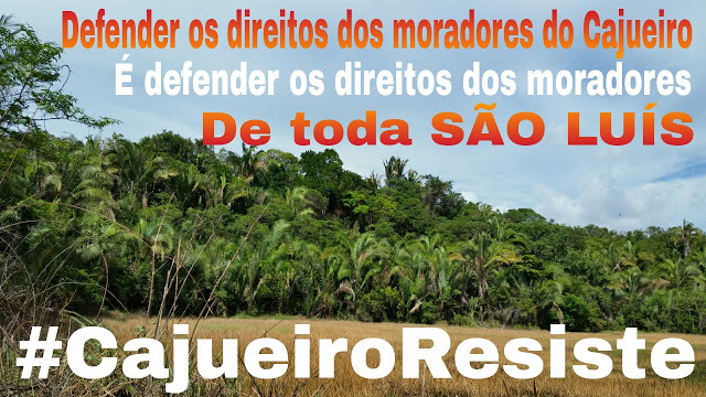 Cajueiro organiza protesto contra Michel Temer, Flávio Dino e Sarney Filho