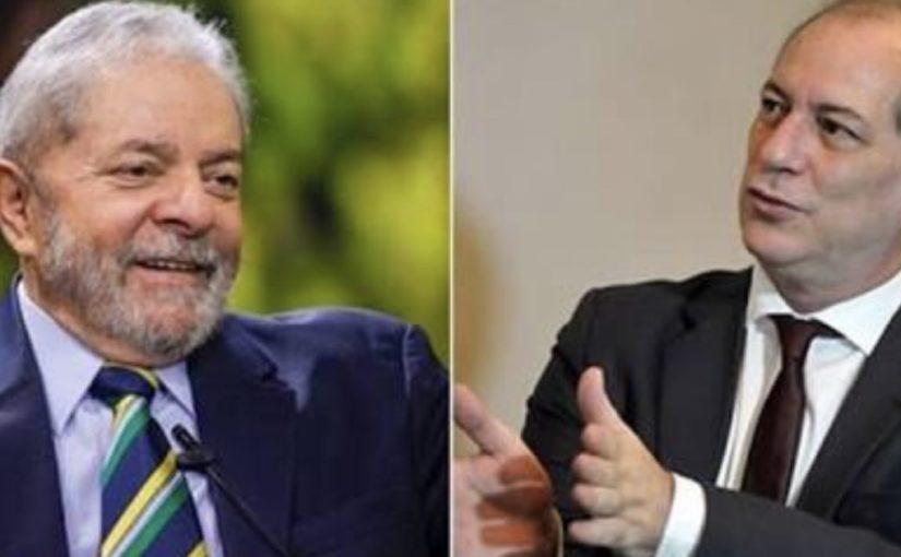 A ausência sentida de Ciro Gomes na defesa de Lula