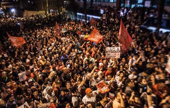 Solidariedade inibe a prisão de Lula