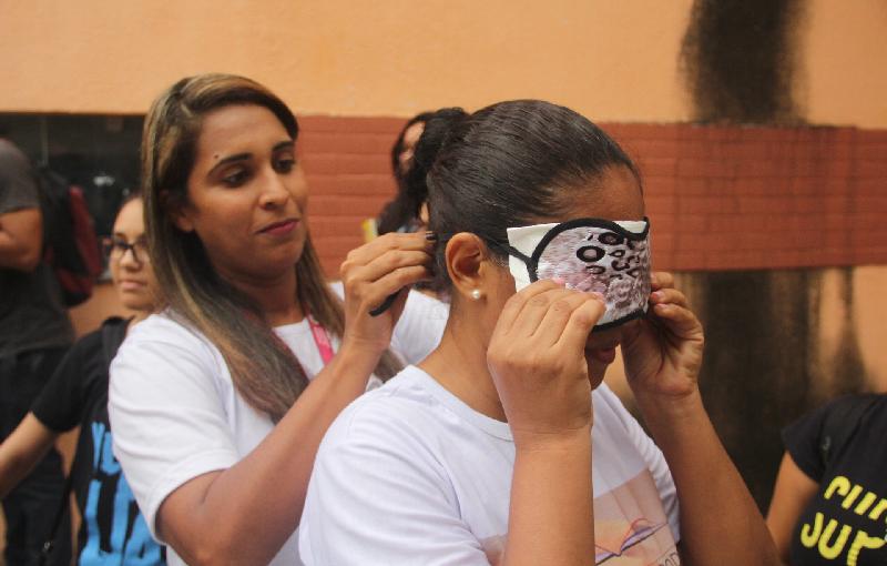 Comissão de Acessibilidade do CCSo/UFMA é um espaço de interlocução para as pessoas com deficiência, explica a professora Carolina Libério