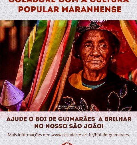 Campanha busca apoio financeiro para o Boi de Guimarães na temporada junina