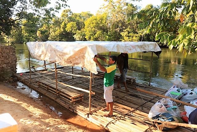 Descendo o rio Balsas nos braços do buriti