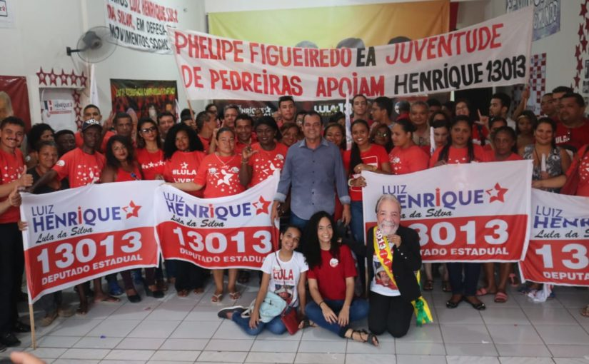 Vereador João Ricardo, de Alcântara, reitera apoio a Luiz Henrique Lula da Silva