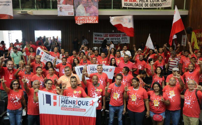 A força da candidatura do PTista Luiz HENRIQUE Lula da Silva a deputado estadual