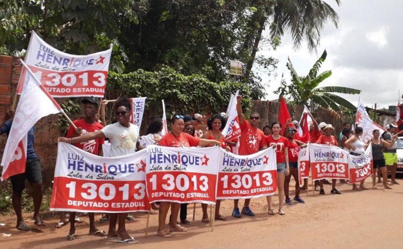 Luiz Henrique: caminhadas na Vila Janaína e Apeadouro marcam a campanha nos bairros de São Luís