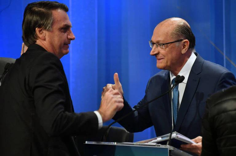 Desespero na TV: Geraldo Alckmin mira em Bolsonaro