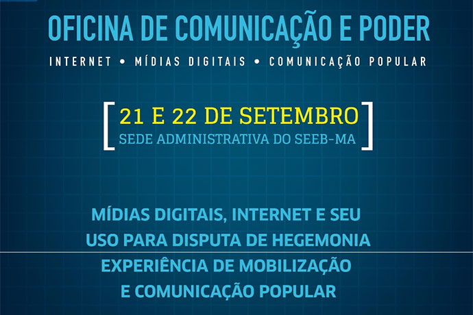 """Sindicado dos Bancários promove oficina """"Comunicação e Poder"""""""