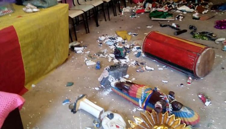 Federação de Umbanda e Cultos Afros pede investigação sobre vandalismo em terreiro no Sá Viana