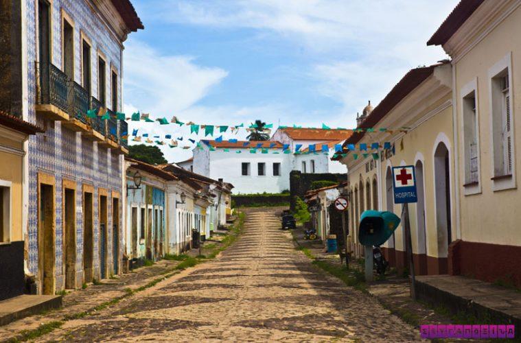 Guerreiro e a casa Granfina em Ponta de Areia