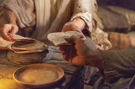 Pão e água para Jesus Cristo